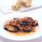 Een heerlijk recept: Aubergine met tomatensaus en kaas