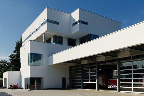 """""""Brandweervilla"""", Brandweerkazerne Dennenstraat/Middelweg, Zwolle Noord"""