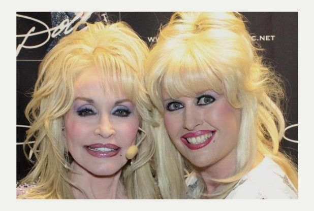 Ashford's answer to Dolly Parton meets her heroine | Ashford Herald