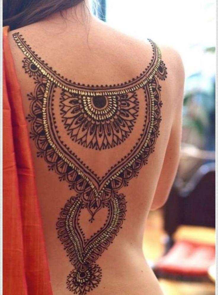 12 Henna Tattoo Temporary