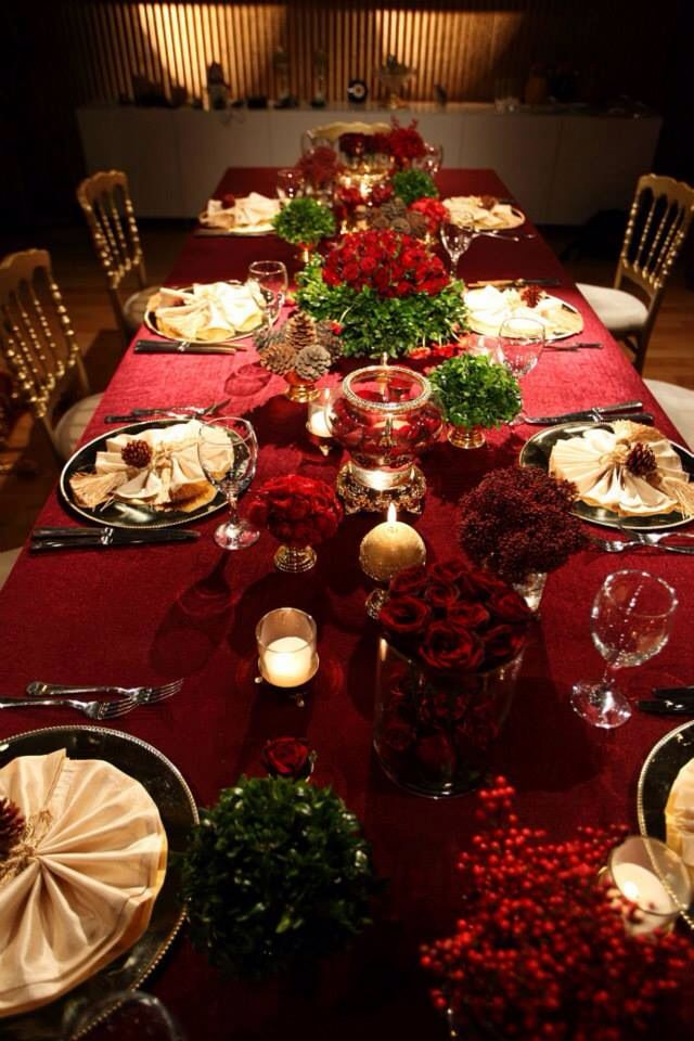 New year table decorations by KM Events Turkey