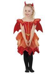 Halloween Little Devil Fancy Dress Costume