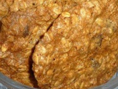 Vločkové sušenky s oříšky