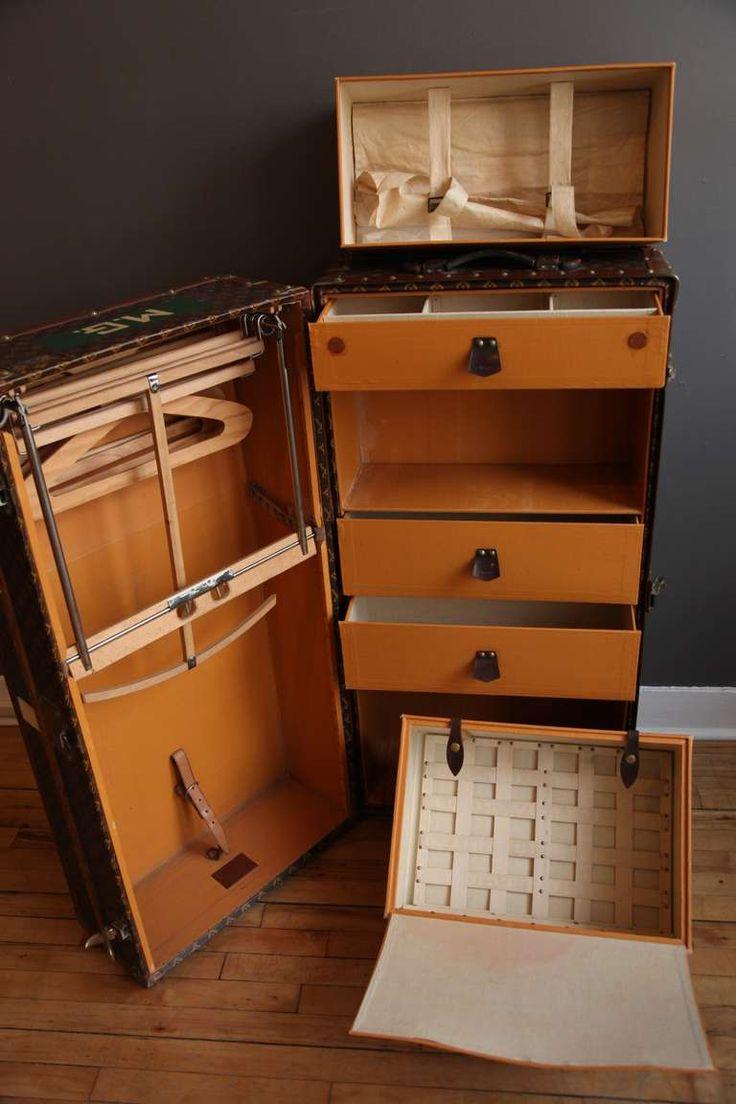 Louis Vuitton Steamer Wardrobe Trunk