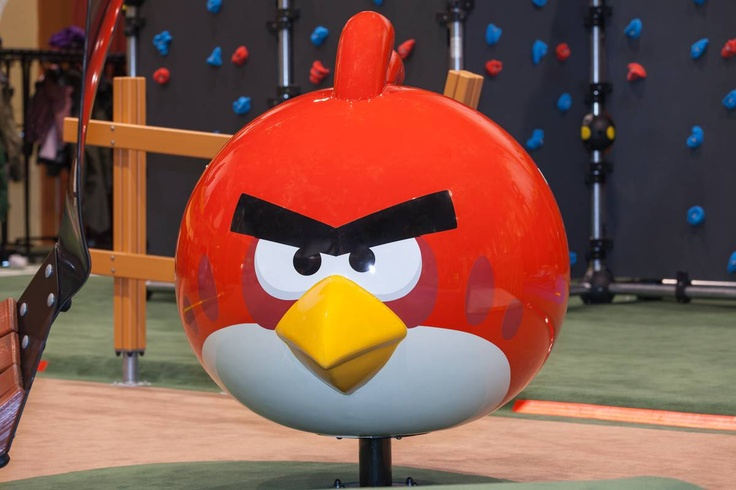 Everyone loves these birds at the Angry Birds Activity Parks
