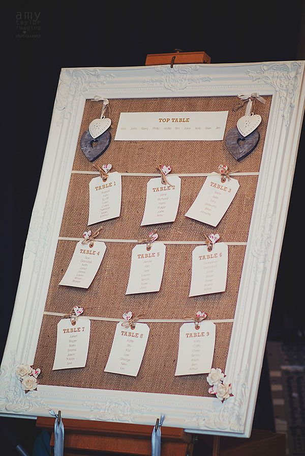 18 rustic wedding ideas from real brides on the English Wedding Blog! | http://english-wedding.com/2013/12/rustic-wedding-ideas/