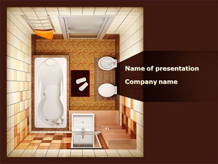 12 best images about construction presentation themes on for Bathroom templates for planning