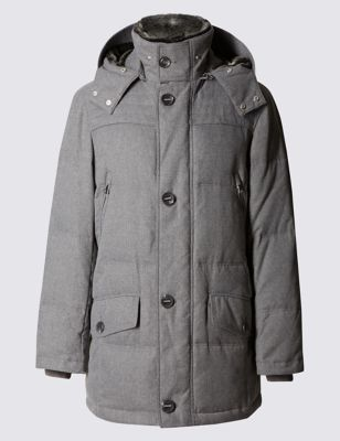 Winter Down Filled Parka with StormwearTM