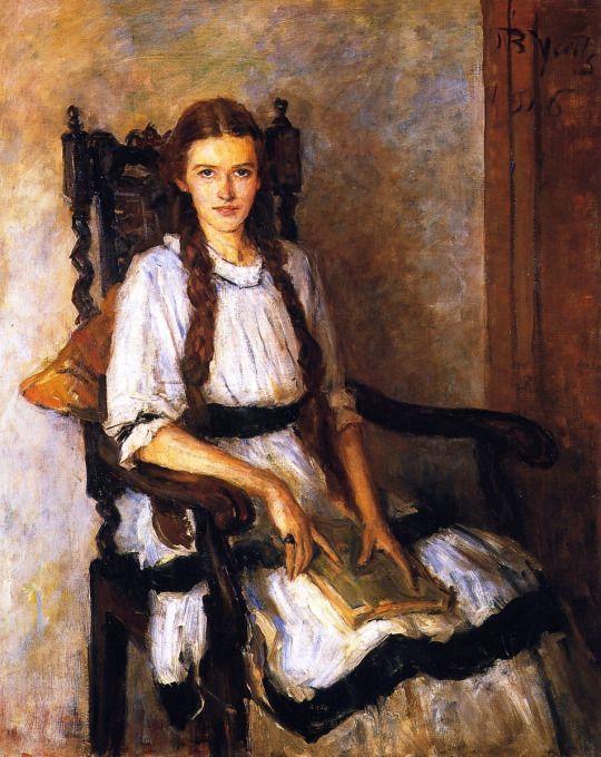 John Butler Yeats — Mary Lapsley Caughey, 1916.