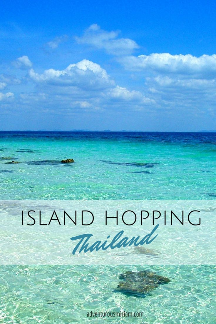 A guide to West coast Island hopping in Thailand #travel #yourtravellist