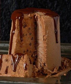 Παρφέ σοκολάτας σε τούρτα
