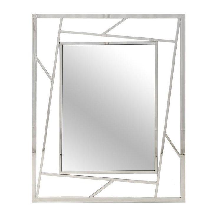 Stainless Steel Wall Mirror - Metallic m. - MIRRORS