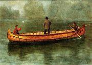 "New artwork for sale! - "" Fishing From A Canoe by Albert Bierstadt "" - http://ift.tt/2oequzx"