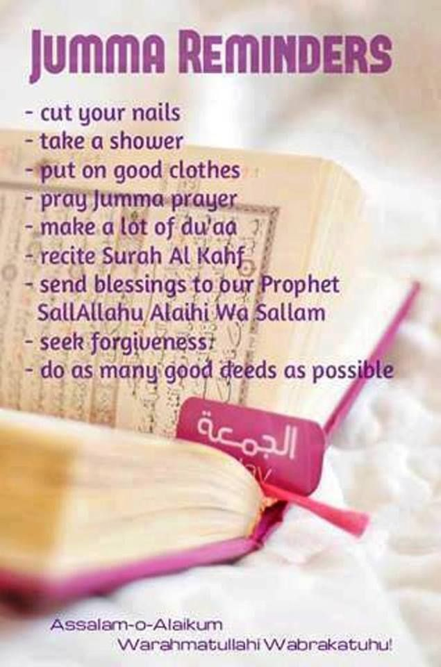 Don't know if it's allowed to us to say Jumua Mubarak! Allahu Aalam! Don't forget the sunna on our FRIDAY!