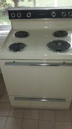 hot point electric stoveoven in garage sale in milton ma for 40