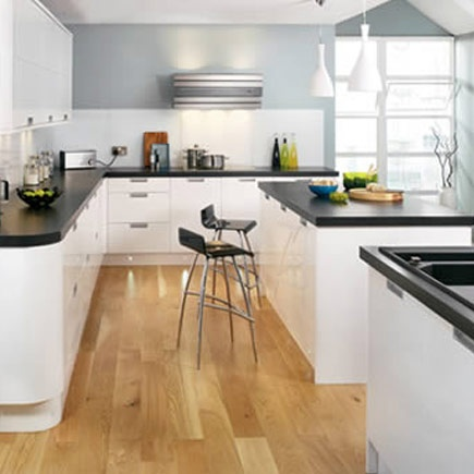 White Kitchen Units With Grey Worktop 61 best white gloss kitchens images on pinterest | white gloss