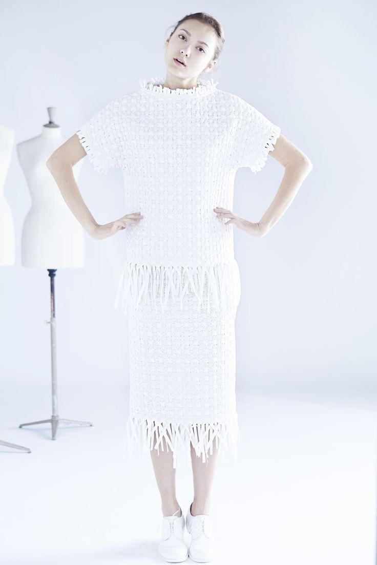 Origami top & skirt