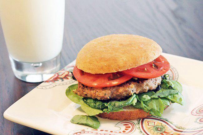 Recipe:+Skinny+Worcestershire+Turkey+Burger