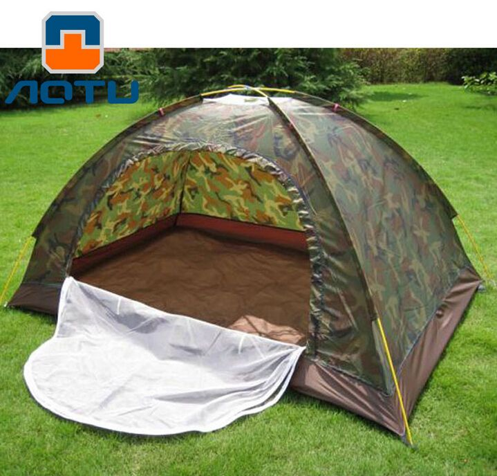 AOTU Outdoor Camping Camouflage Tent 2 Person Hiking Mountaineering Tourism Portable Tent Camping Essential Equipment #Camping essentials http://www.ku-ki-shop.com/shop/camping-essentials/aotu-outdoor-camping-camouflage-tent-2-person-hiking-mountaineering-tourism-portable-tent-camping-essential-equipment/