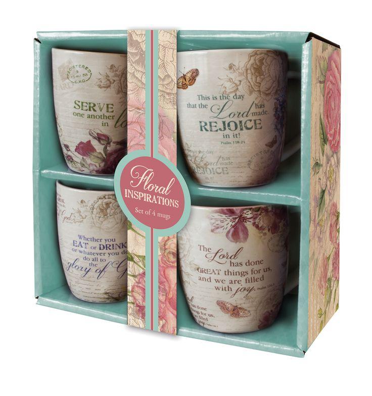 Mug Set Floral Inspirations