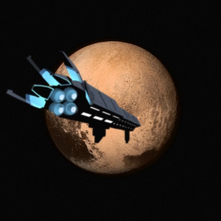 forma.8 starship orbiting Pluto?