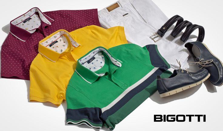 The #polo #shirt - the #ultimate in #summertime #smartcasual Up to 30% OFF #sale www.bigotti.ro #mensfashion #tricouri #followus #Bigottiromania #ootd #ootdmen #stylingtips #stripes #plain #microprint #dungi #uni #promotie #reduceri #summersales #tshirts #menswear #mensclothing