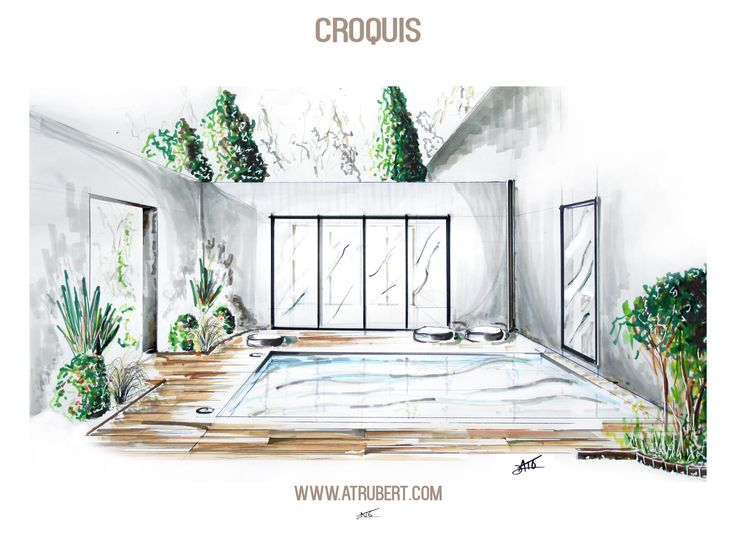 les 25 meilleures id es de la cat gorie croquis d. Black Bedroom Furniture Sets. Home Design Ideas