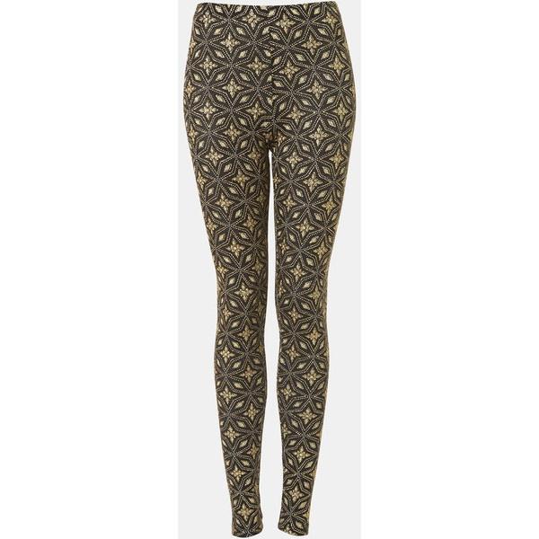 Topshop Glitter Star Print Leggings ($15) ❤ liked on Polyvore