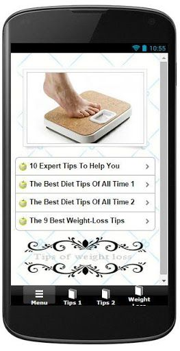 Are you planning for weight loss and searching for weight loss tips...?<br>This Application provides you a huge collection of weight loss tips,BMI calculator and Calories chart for various food items which are simple as well as assure weight loss.<br>The