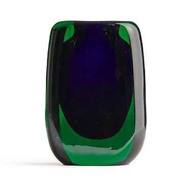 Hermann Bongard, Glass Vase for Hadeland