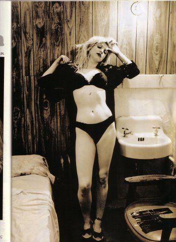 Courtney Love by Anton Corbijn
