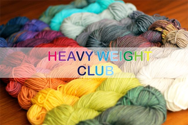 Club memberships for the Winter installment will be available until January  1st.  This Club will run for 3 consecutive months starting in January. You'll  receive a different dk-aran weight yarn base in a Club exclusive colourway  every month.   Shipping and handling is included in the price. I've allowed for $7 S&H per  month regardless of the number of skeins you've subscribed for or where in  the world you live! Any applicable taxes will be added to your cart upon  checkout.  This is a…