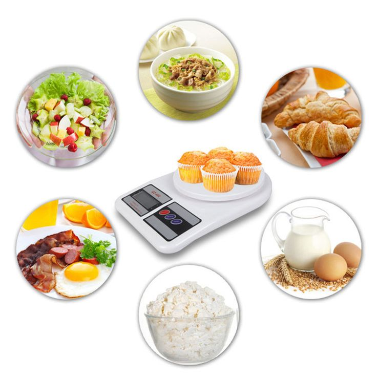 5kg 5000g/1g Digital Kitchen Food Diet Postal Scale Kitchen Tool LCD Display New