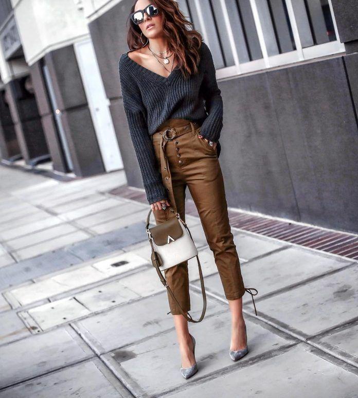 Модные женские брюки 2020-2021 фото, модели, фасоны ...