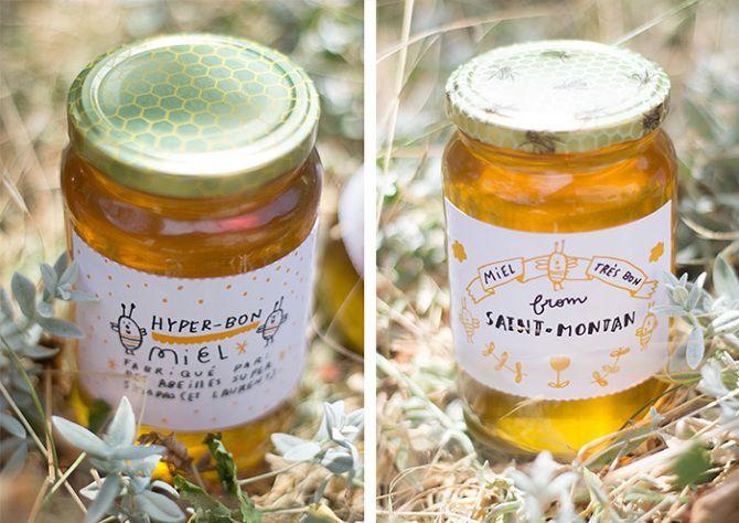 les 25 meilleures id 233 es de la cat 233 gorie pots de miel sur emballage de miel
