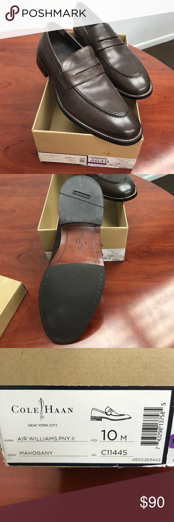 Cole Hann Brown Loafer Sz 10D Like new Cole Haan Shoes Loafers & Slip-Ons