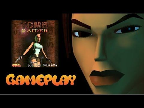 Tomb Raider 1 Psx - gameplay - Jacobo García - Interfaz coleccionista - YouTube