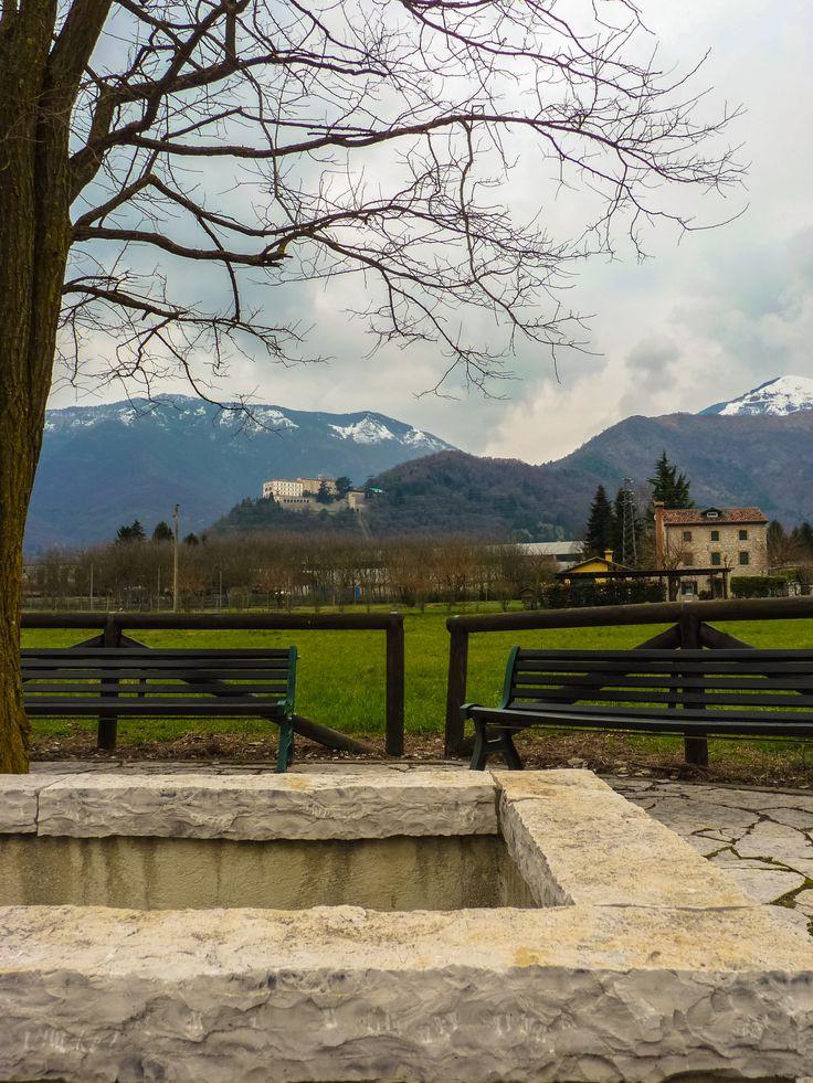 Talking about #CastelBrando overlooks the #valley...