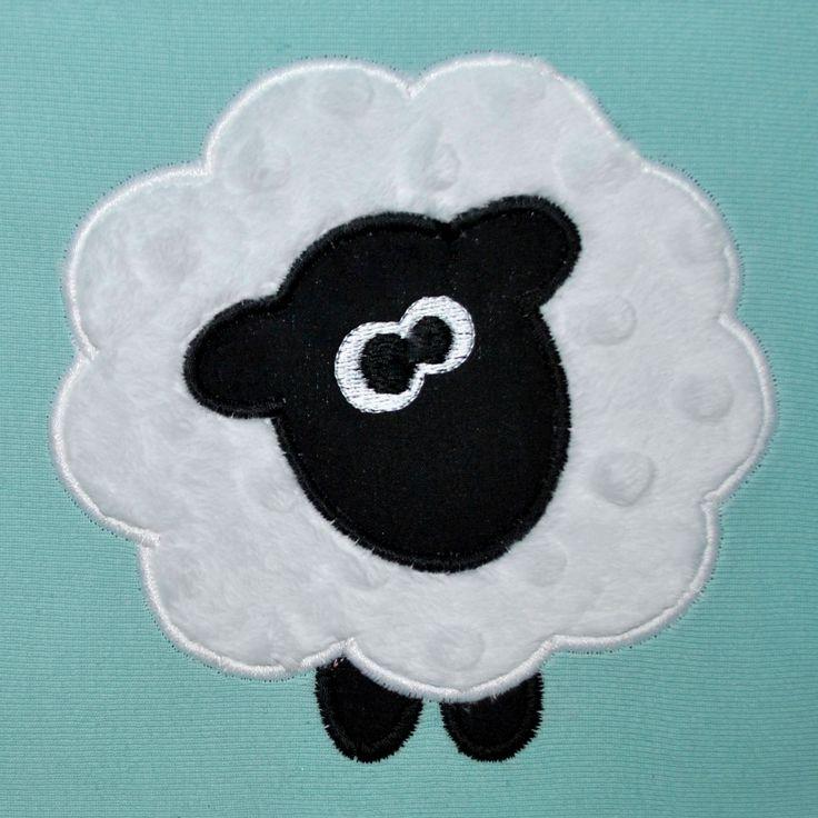 no sew applique patterns free | ... Applique Design - Farm Animal Applique - 3 Sizes - Spring Applique