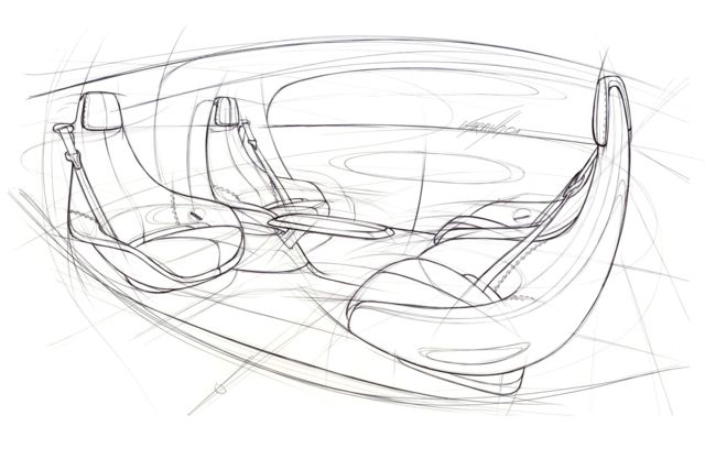Mercedes autonomous CES concept
