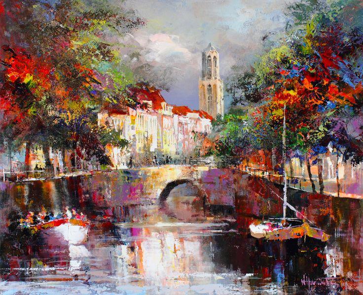 willem haenraets - Hollandaise Impressionist painter