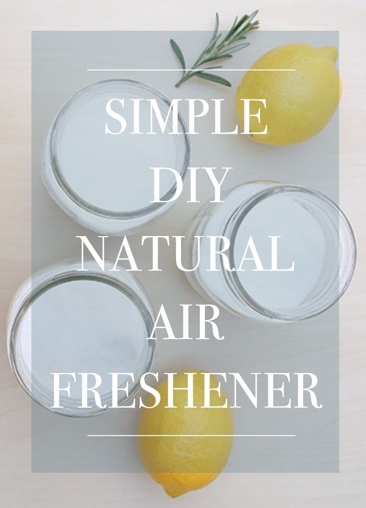 Simple DIY Natural Air Freshener /