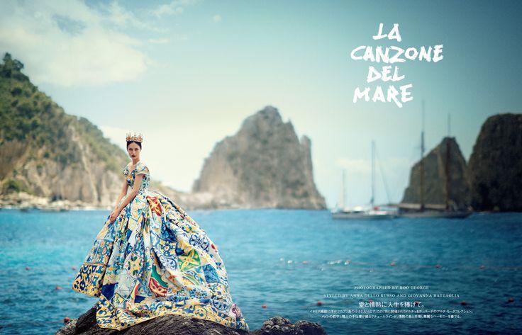 LA CANZONE DEL MARE - Fashion Editoral by Boo George @VogueJapan October 2014