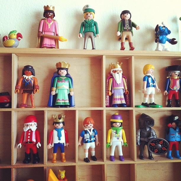 A kingdom of vintage playmobile
