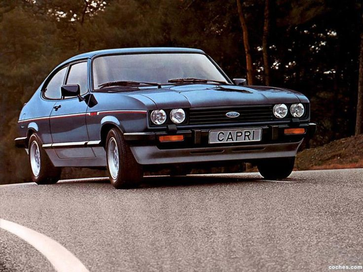 Ford Capri mk 3.  I used to have a 3litre one of these, went like stink.