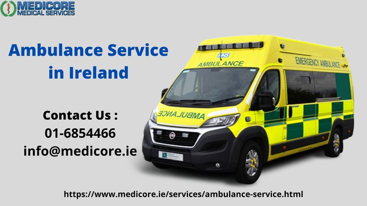Emergency ambulance services in ireland in 2020