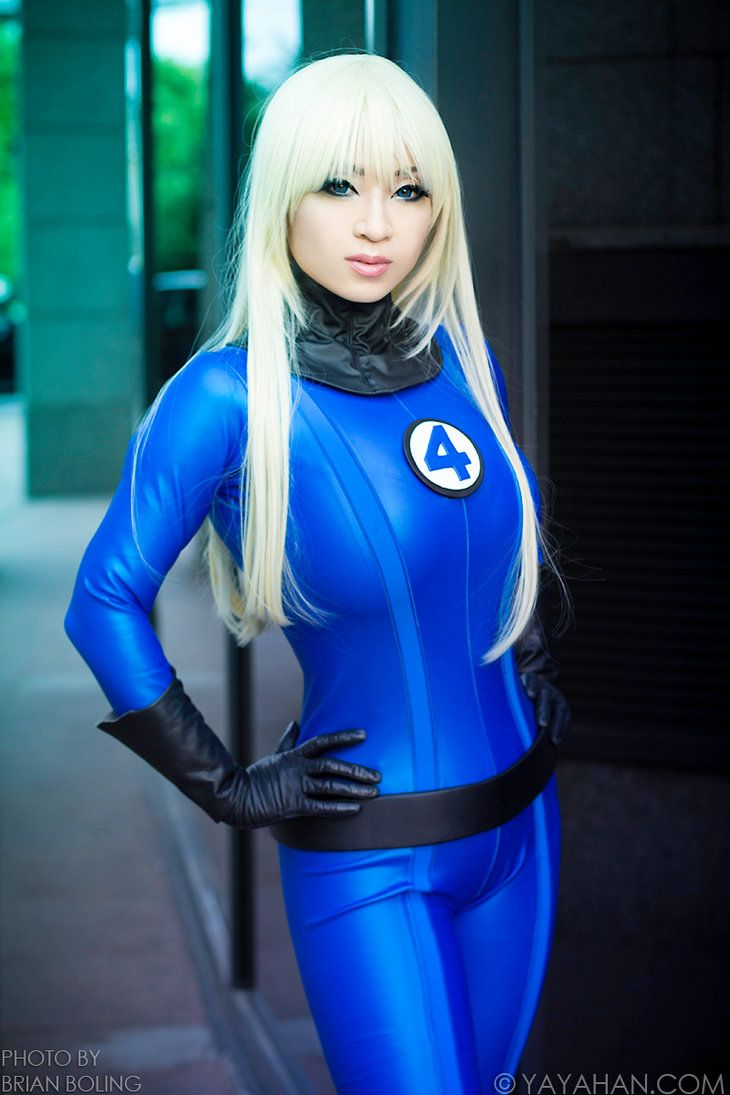 Sue Storm Invisible Woman Cosplay By Yayacosplay On