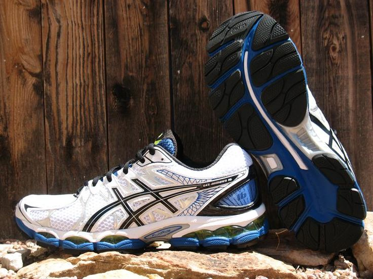 Asics Nimbus 16 Review - http://www.runningshoesguru.com/2014/06/asics-nimbus-16-review/ - A solid choice for runners wanting a premium soft cushioned long run shoe.