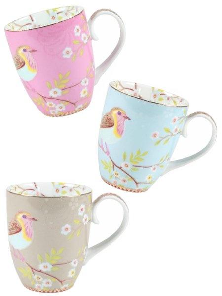 Early bird -muki kahvalla