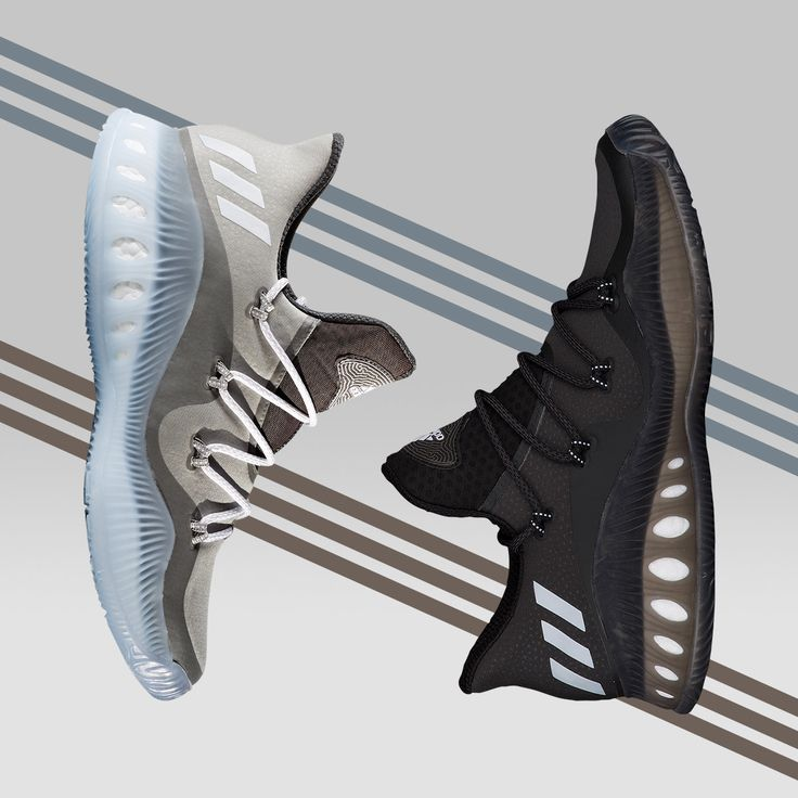 Next-level explosion in a low-top sneaker. The adidas Crazy Explosive Low is available today.